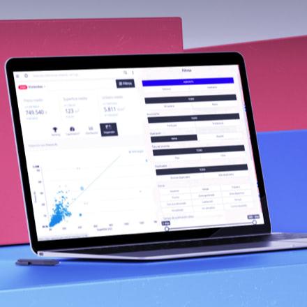Una pantalla de ejemplo de Fotocasa Pro